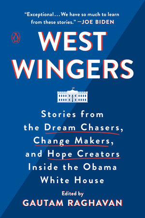 The cover of the book West Wingers