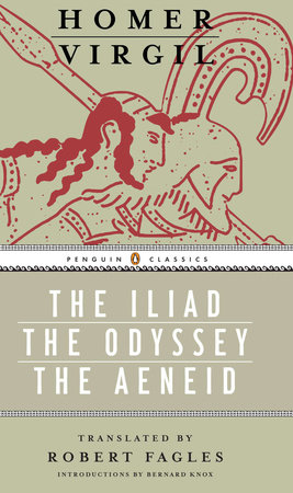 Iliad, Odyssey, and Aeneid box set by Homer
