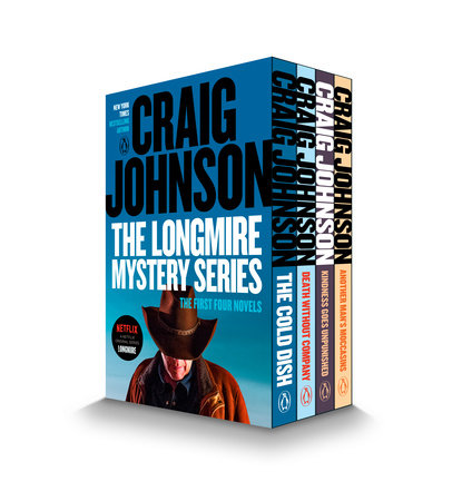 The Walt Longmire Mystery Series Boxed Set Volumes 1-4 by Craig Johnson