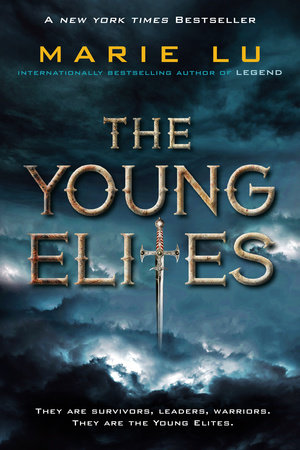 The cover of the book The Young Elites