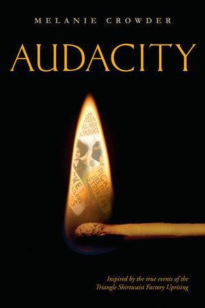 Audacity by Melanie Crowder