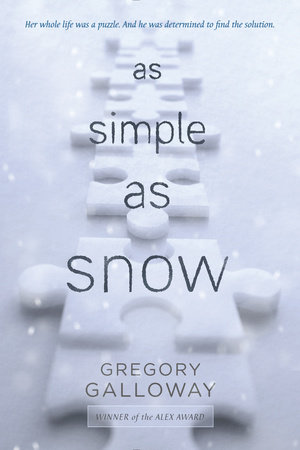 As Simple as Snow Book Cover Picture