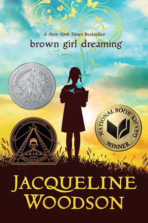 The cover of the book Brown Girl Dreaming
