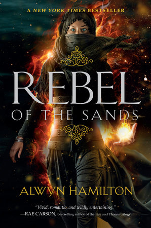 The cover of the book Rebel of the Sands