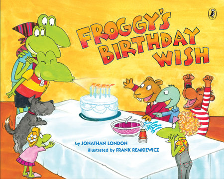 Froggy's Birthday Wish by Jonathan London