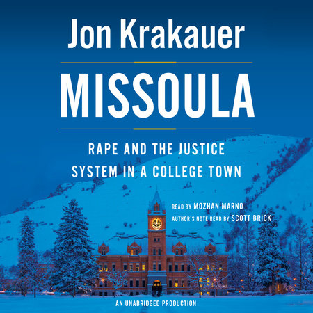 Missoula by Jon Krakauer