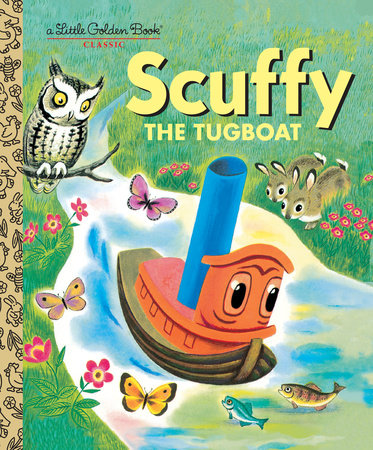Scuffy the Tugboat by Golden Books