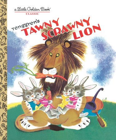 Tawny Scrawny Lion by Golden Books