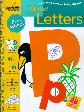 I Know Letters (Preschool) by Susan J. Schneck