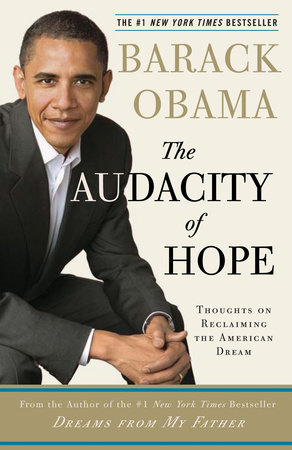 The Audacity of Hope Book Cover Picture