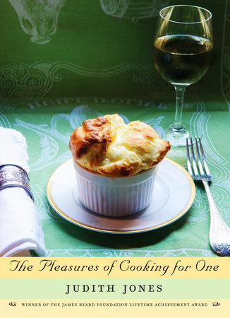 The cover of the book The Pleasures of Cooking for One