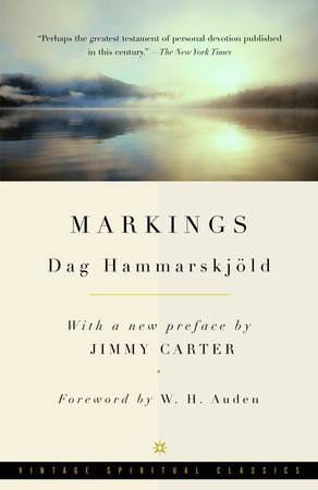 Markings by Dag Hammarskjold