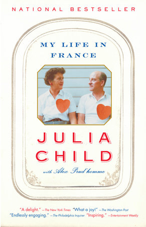 The cover of the book My Life in France
