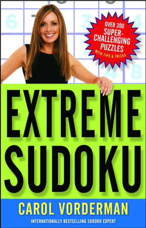 Extreme Sudoku by Carol Vorderman