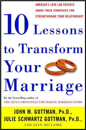 Ten Lessons To Transform Your Marriage by John Gottman, Ph.D., Julie Schwartz Gottman and Joan DeClaire
