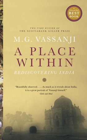 A Place Within by M.G. Vassanji