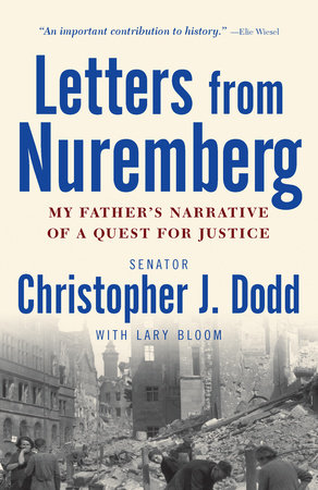 The cover of the book Letters from Nuremberg