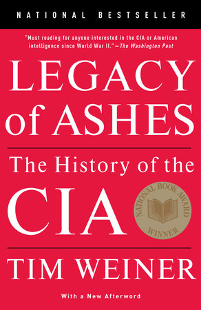 The cover of the book Legacy of Ashes