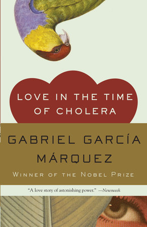 The cover of the book Love in the Time of Cholera
