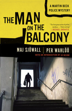 The cover of the book MAN ON THE BALCONY