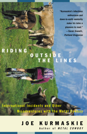 Riding Outside The Lines by Joe Kurmaskie