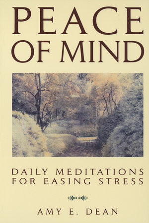 Peace of Mind by Amy E. Dean