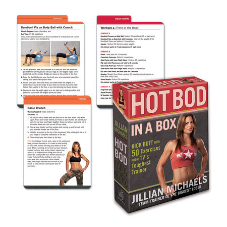 Jillian Michaels Hot Bod in a Box by Jillian Michaels