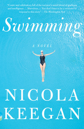 The cover of the book Swimming