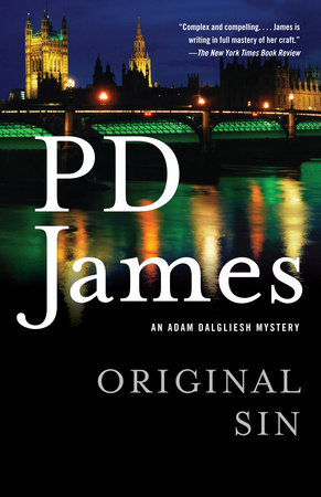 Original Sin by P. D. James