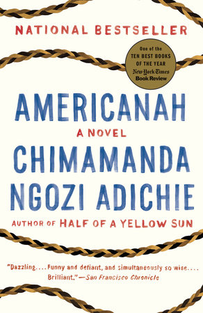 The cover of the book Americanah