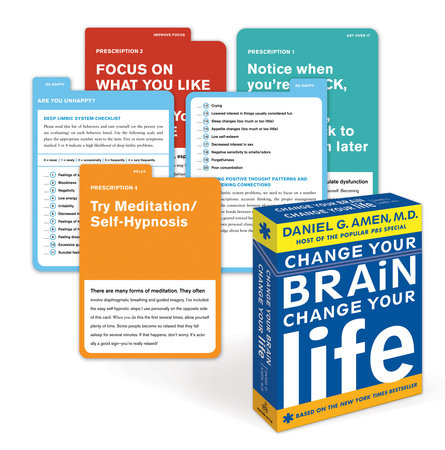 Change Your Brain, Change Your Life Deck by Daniel G. Amen, M.D.