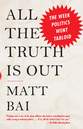 All the Truth Is Out Book Cover Picture