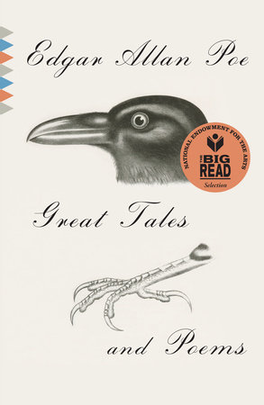 Great Tales and Poems of Edgar Allan Poe Book Cover Picture