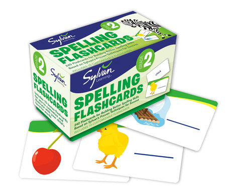 2nd Grade Spelling Flashcards by Sylvan Learning
