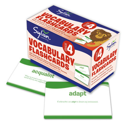 4th Grade Vocabulary Flashcards by Sylvan Learning