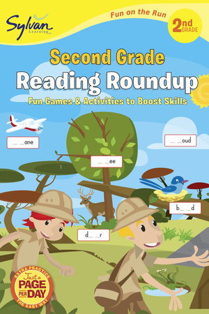Second Grade Reading Roundup (Sylvan Fun on the Run Series) by Sylvan Learning