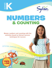 Kindergarten Numbers & Counting (Sylvan Workbooks)