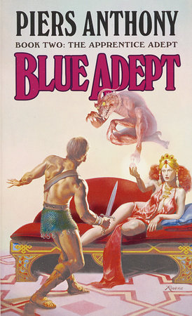 BLUE ADEPT by Piers Anthony