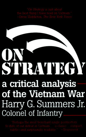 On Strategy by Harry G. Summers