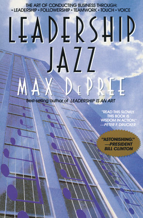 Leadership Jazz by Max Depree