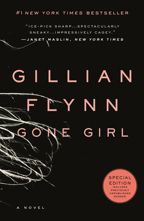 The cover of the book Gone Girl