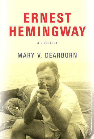 The cover of the book Ernest Hemingway