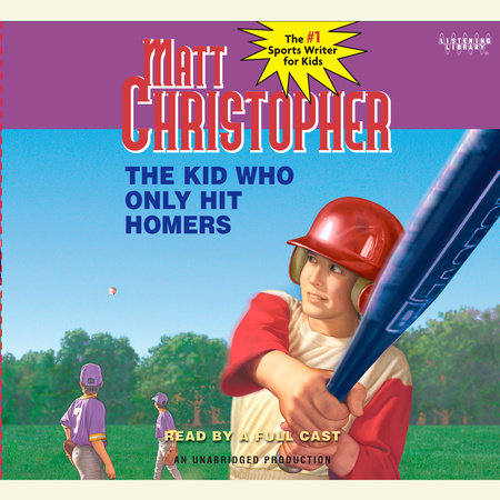 The Kid Who Only Hit Homers by Matt Christopher