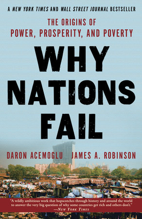 The cover of the book Why Nations Fail