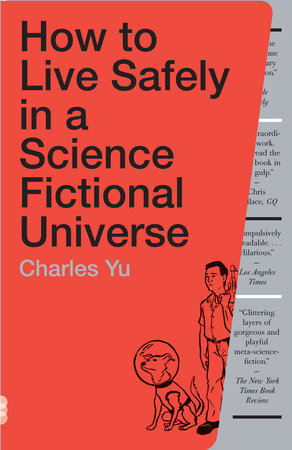 The cover of the book How to Live Safely in a Science Fictional Universe