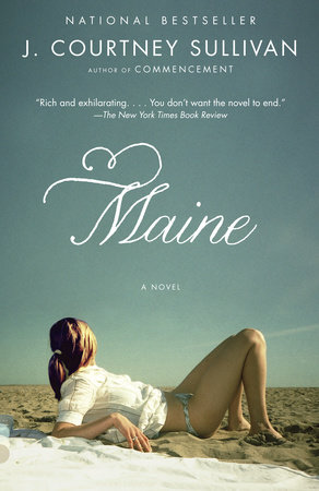 The cover of the book Maine