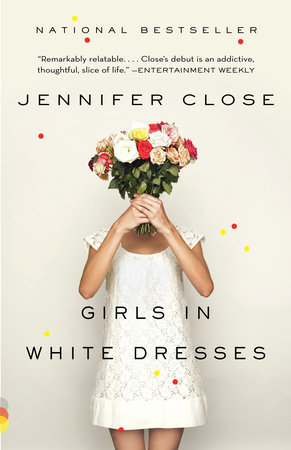 Girls in White Dresses Book Cover Picture