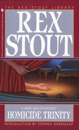 Homicide Trinity by Rex Stout