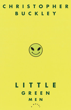 The cover of the book Little Green Men