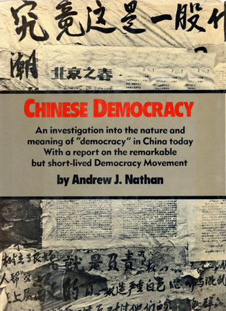 CHINESE DEMOCRACY by Andrew J Nathan
